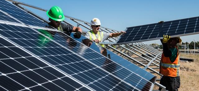 Energia elektryczna z paneli słonecznych